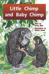Rigby PM Plus  Individual Student Edition Blue (Levels 9-11) Little Chimp and Baby Chimp-9780763573041