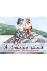 Rigby PM Plus  Individual Student Edition Blue (Levels 9-11) A Treasure Island-9780763573157