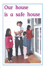 Rigby PM Plus  Individual Student Edition Blue (Levels 9-11) Our House Is a Safe House-9780763573225