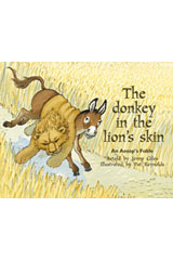 Rigby PM Plus  Individual Student Edition Green (Levels 12-14) The Donkey In the Lion's Skin-9780763573522
