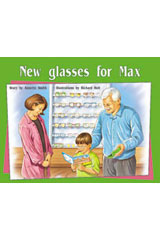 Rigby PM Plus  Individual Student Edition Green (Levels 12-14) New Glasses For Max-9780763573621