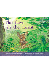 Rigby PM Plus  Individual Student Edition Green (Levels 12-14) The Fawn In Forest-9780763573744
