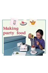 Rigby PM Plus  Individual Student Edition Green (Levels 12-14) Making Party Food-9780763573805