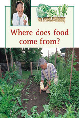 Rigby PM Plus  Individual Student Edition Green (Levels 12-14) Where Does Food Come From?-9780763573812