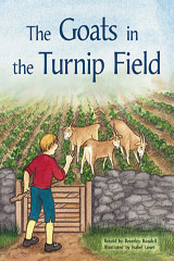 Rigby PM Plus  Individual Student Edition Orange (Levels 15-16) The Goats In the Turnip Field-9780763573935