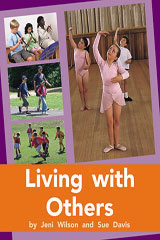 Rigby PM Plus  Individual Student Edition Orange (Levels 15-16) Living with Others-9780763574116