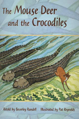 Rigby PM Plus  Individual Student Edition Turquoise (Levels 17-18) The Mouse Deer and the Crocodiles-9780763574307