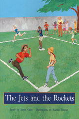 Rigby PM Plus  Individual Student Edition Turquoise (Levels 17-18) The Jets and the Rockets-9780763574321