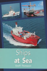 Rigby PM Plus  Individual Student Edition Turquoise (Levels 17-18) Ships At Sea-9780763574369