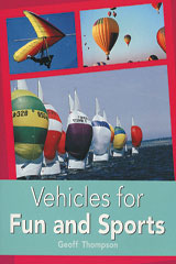 Rigby PM Plus  Individual Student Edition Turquoise (Levels 17-18) Vehicles for Fun and Sports-9780763574406