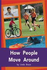 Rigby PM Plus  Individual Student Edition Purple (19-20) How People Move Around-9780763579456