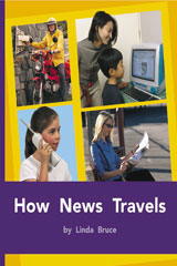 Rigby PM Plus  Individual Student Edition Purple (19-20) How News Travels-9780763579470