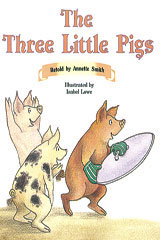 Rigby PM Collection  Leveled Reader 6pk Orange (Levels 15-16) The Three Little Pigs-9780763583576