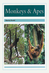 Rigby PM Collection  Leveled Reader 6pk Turquoise (Levels 17-18) Monkeys & Apes-9780763589134