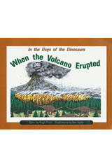 Rigby PM Collection  Leveled Reader 6pk Turquoise (Levels 17-18) In the Days of Dinosaurs: When the Volcano Erupted-9780763589288