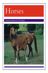 Rigby PM Collection  Leveled Reader 6pk Purple (Levels 19-20) Animals - Horses-9780763592103