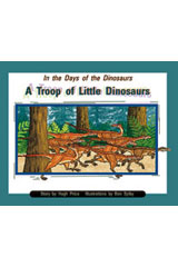 Rigby PM Collection  Leveled Reader 6pk Purple (Levels 19-20) In the Days of Dinosaurs: A Troop of Little Dinosaurs-9780763592332