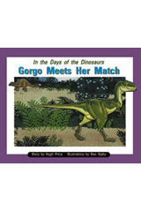 Rigby PM Collection  Leveled Reader 6pk Purple (Levels 19-20) In the Days of Dinosaurs: Gorgo Meets Her Match-9780763592387
