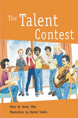 Rigby PM Collection  Leveled Reader 6pk Silver (Levels 23-24) The Talent Contest-9780763596668