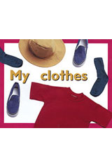 Rigby PM Plus Starters  Leveled Reader 6pk Magenta (Level 2) My Clothes-9780763597092