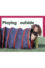 Rigby PM Plus Starters  Leveled Reader 6pk Magenta (Level 2) Playing Outside-9780763597115