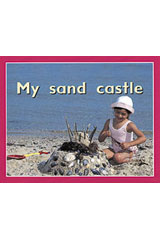 Rigby PM Plus Starters  Leveled Reader 6pk Magenta (Level 2) My Sand Castle-9780763597153