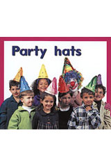 Rigby PM Plus Starters  Leveled Reader 6pk Magenta (Level 2) Party Hats-9780763597177
