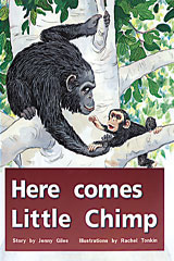 Rigby PM Plus  Leveled Reader 6pk Red (Levels 3-5) Here Comes Little Chimp-9780763597283