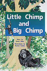 Rigby PM Plus  Leveled Reader 6pk Red (Levels 3-5) Little Chimp and Big Chimp-9780763597368