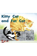 Rigby PM Plus  Leveled Reader 6pk Red (Levels 3-5) Kitty Cat and Fat Cat-9780763597498