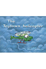 Rigby PM Plus  Leveled Reader 6pk Red (Levels 3-5) Toytown Helicopter-9780763597511