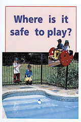 Rigby PM Plus  Leveled Reader 6pk Red (Levels 3-5) Where is it Safe to Play?-9780763597573