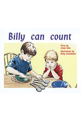 Rigby PM Plus  Leveled Reader 6pk Yellow (Levels 6-8) Billy Can Count-9780763597641