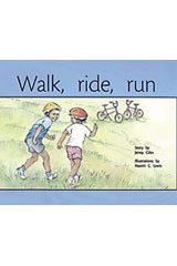 Rigby PM Plus  Leveled Reader 6pk Yellow (Levels 6-8) Walk, Ride, Run-9780763597702