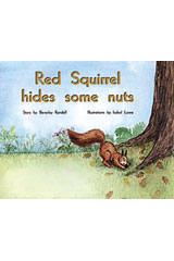 Rigby PM Plus  Leveled Reader 6pk Yellow (Levels 6-8) Red Squirrel Hides Some Nuts-9780763597764