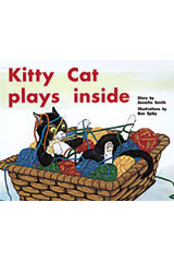Rigby PM Plus  Leveled Reader 6pk Yellow (Levels 6-8) Kitty Cat Plays Inside-9780763597825
