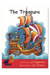Rigby Sails Emergent  Leveled Reader 6pk Magenta The Treasure-9780763598730