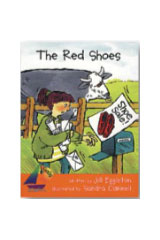Rigby Sails Launching Fluency  Leveled Reader 6pk Orange The Red Shoes-9780763599454