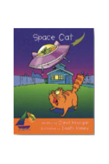 Rigby Sails Launching Fluency  Leveled Reader 6pk Orange Space Cat-9780763599492