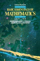Basic Essentials of Math  Student Edition Percentage Measurement and Formula Equations-9780811446693