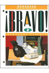¡Bravo!  Workbook: Writing and Reading Activities Level 2-9780812387414