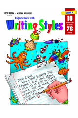 Experiences with Writing Styles  Reproducible Grade 4-9780817280574