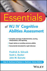 Essentials of WJIV  Cognitive Abilities Assessment-9781119163367