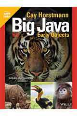 Horstmann, Big Java Early Objects, Sixth Edition  Student Edition Grades 9-12-9781119582847