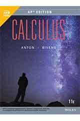 Anton, Calculus, Eleventh Edition, AP Edition 1 Year WileyPLUS Set Grades 9-12-9781119585343