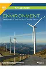 Raven, Environment, Tenth Edition, AP Edition 6 Year ePUB Set Grades 9-12-9781119586463