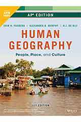 Fouberg, Human Geography: People, Place, and Culture, Eleventh Edition, AP Editi 1 Year ePUB Set Grades 9-12-9781119586647