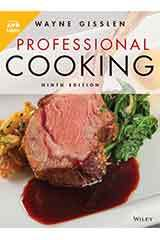 Gisslen, Professional Cooking, Ninth Edition 1 Year WileyPLUS Set Grades 9-12-9781119587897