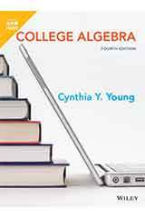 Young, College Algebra, Fourth Edition 1 Year WileyPLUS Set Grades 9-12-9781119590293