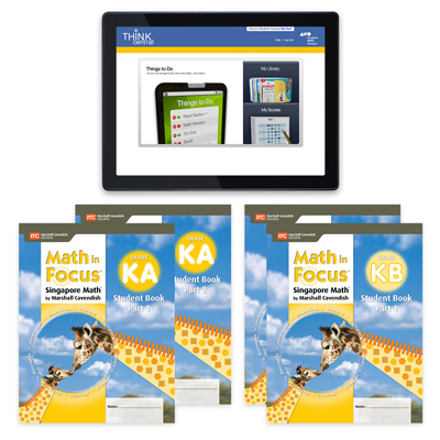 Math in Focus (STA) with 1 Year Digital Student Resource Package Grade K-9781328479785